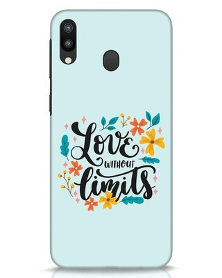 Shop Love1 Samsung Galaxy M20 Mobile Cover-Front