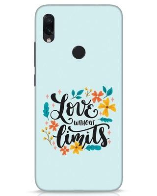 Shop Love1 Xiaomi Redmi Note 7s Mobile Cover-Front