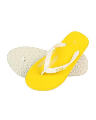 Shop LYVI HE Yellow Color Casual Flip-Flop's for Men-Front