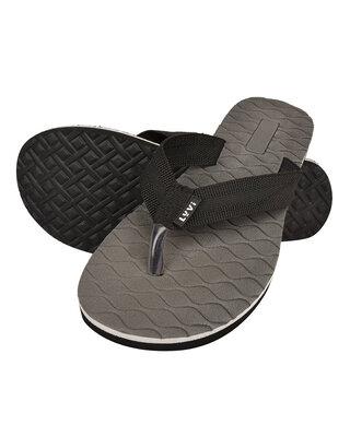 Shop LYVI Klassich Grey Color Casual Flip-Flop's for Men-Front
