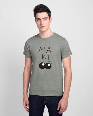 Shop Mojotrack Ma Ki Aankh Half T-Shirt-Front