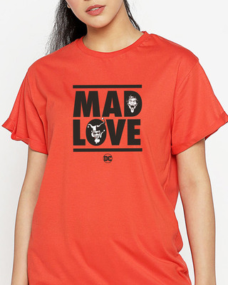 Shop Mad Love Harley 2.0 Boyfriend T-Shirt (DCL)-Front