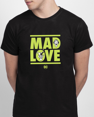 Shop Mad Love Joker  Half Sleeve T-Shirt  (DCL)-Front