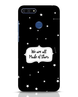 Shop Made Of Stars Huawei Honor 7A Mobile Cover-Front