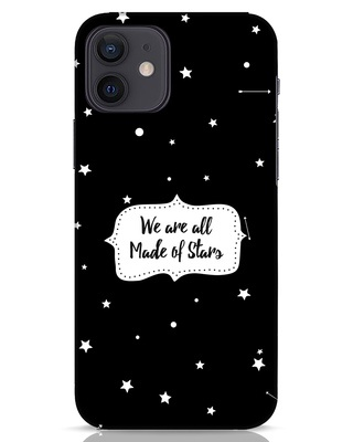 Shop Made Of Stars iPhone 12 Mobile Cover-Front