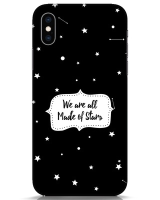 Shop Made Of Stars iPhone XS Mobile Cover-Front