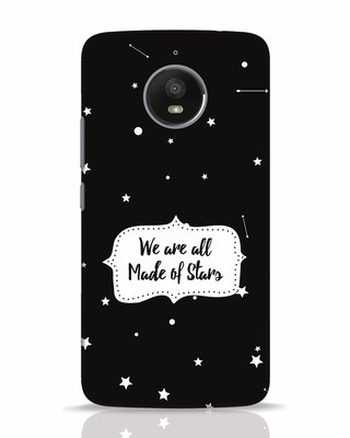 Shop Made Of Stars Moto E4 Plus Mobile Cover-Front