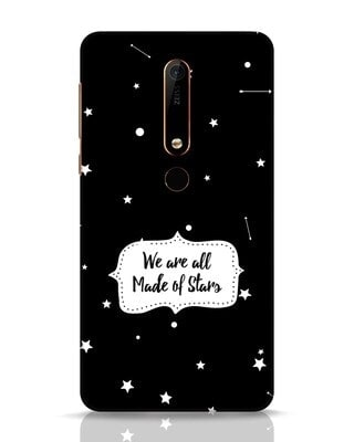 Shop Made Of Stars Nokia 6.1 Mobile Cover-Front