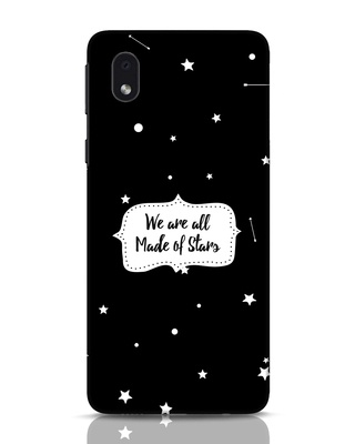 Shop Made Of Stars Samsung Galaxy M01 Mobile Cover-Front