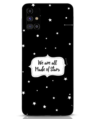 Shop Made Of Stars Samsung Galaxy M31s Mobile Cover-Front