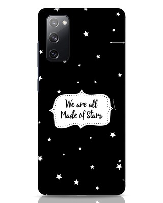 Shop Made Of Stars Samsung Galaxy S20 FE Mobile Cover-Front