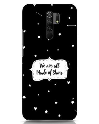 Shop Made Of Stars Xiaomi Redmi 9 Prime Mobile Cover-Front