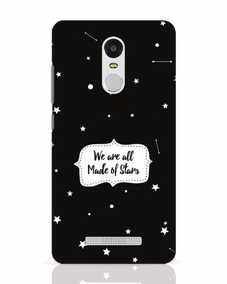 Shop Made Of Stars Xiaomi Redmi Note 3 Mobile Cover-Front