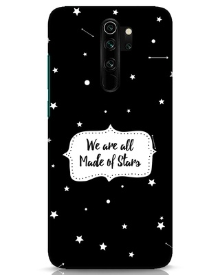 Shop Made Of Stars Xiaomi Redmi Note 8 Pro Mobile Cover-Front
