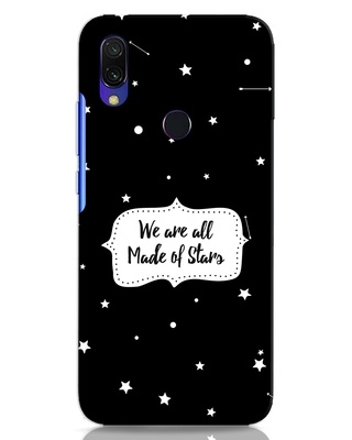 Shop Made Of Stars Xiaomi Redmi Y3 Mobile Cover-Front