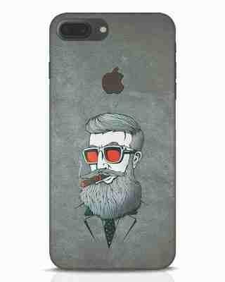 Shop Mafia iPhone 7 Plus Logo Cut Mobile Cover-Front