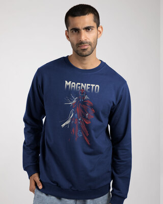 Shop Magneto Fleece Sweaters (XML)-Front