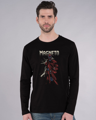 Shop Magneto Full Sleeve T-Shirt (XML)-Front