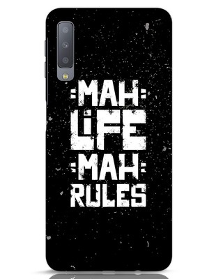 Shop Mah Life Mah Rules Samsung Galaxy A7 Mobile Cover-Front