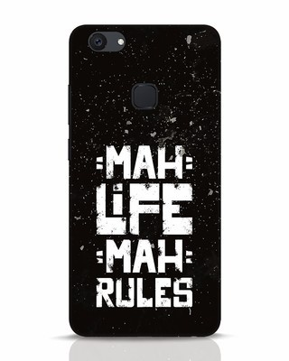 Shop Mah Life Mah Rules Vivo V7 Plus Mobile Cover-Front