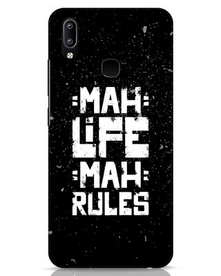 Shop Mah Life Mah Rules Vivo Y91 Mobile Cover-Front
