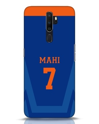 Shop Mahi Cricket Oppo A5 2020 Mobile Cover-Front