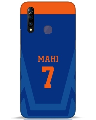 Shop Mahi Cricket Vivo Z1 Pro Mobile Cover-Front