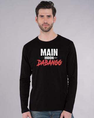 Shop Main Hoon Dabangg Full Sleeve T-Shirt-Front