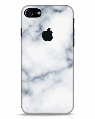 Shop Marble 2 iPhone 7 Logo Cut Mobile Cover-Front
