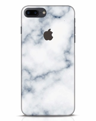 Shop Marble 2 iPhone 7 Plus Logo Cut Mobile Cover-Front