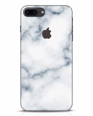 Shop Marble 2 iPhone 7 Plus Logo Cut Mobile Cover-Front