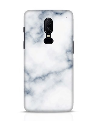 Shop Marble 2 OnePlus 6 Mobile Cover-Front