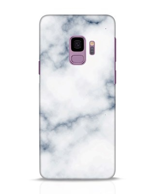 Shop Marble 2 Samsung Galaxy S9 Mobile Cover-Front