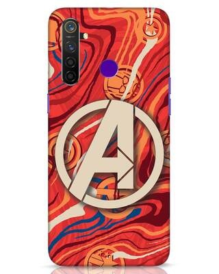 Shop Marble Avg Realme 5 Pro Mobile Cover (AVL)-Front