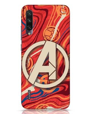 Shop Marble Avg Xiaomi Mi A3 Mobile Cover (AVL)-Front