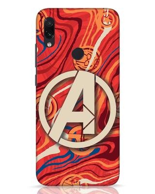 Shop Marble Avg Xiaomi Redmi Note 7 Pro Mobile Cover (AVL)-Front