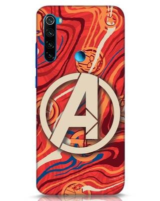 Shop Marble Avg Xiaomi Redmi Note 8 Mobile Cover (AVL)-Front