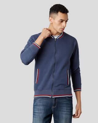 Shop Marca Disati Front Open Sleeved Hoodie-Front