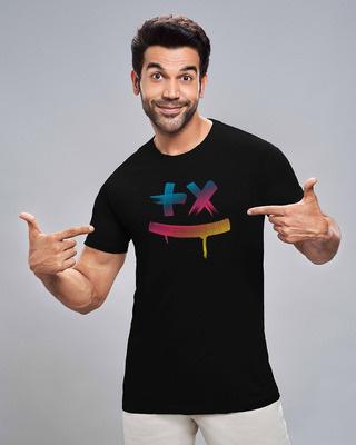 Shop Martin Garrix Colorful Half Sleeve T-Shirt-Front