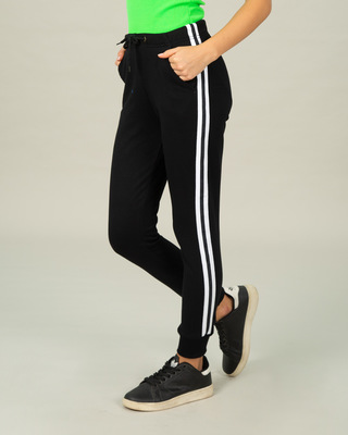 Shop Marty Stripes Joggers-Front