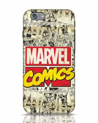 Shop Marvel Comics iPhone 6 Mobile Cover (AVL)-Front
