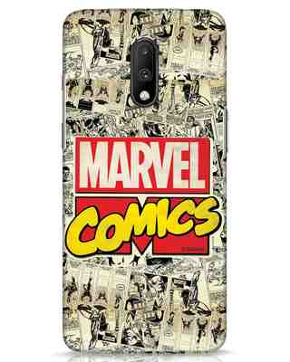 Shop Marvel Comics OnePlus 7 Mobile Cover (AVL)-Front