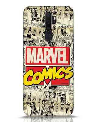 Shop Marvel Comics Oppo A5 2020 Mobile Cover (AVL)-Front