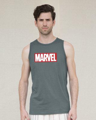 Shop Marvel Logo Ver 2 Vest (AVL)-Front