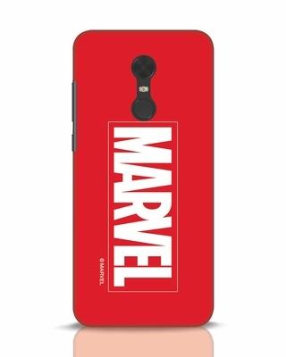 Shop Marvel Xiaomi Redmi Note 5 Mobile Cover (AVL)-Front