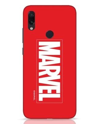 Shop Marvel Xiaomi Redmi Note 7 Pro Mobile Cover (AVL)-Front
