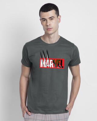 Shop Marvelrine Half Sleeve T-Shirt (XML)-Front