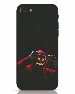 Shop Mask Man iPhone 7 Logo Cut Mobile Cover-Front
