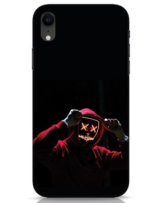 Shop Mask Man iPhone XR Mobile Cover-Front