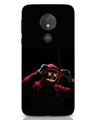 Shop Mask Man Moto G7 Power Mobile Cover-Front